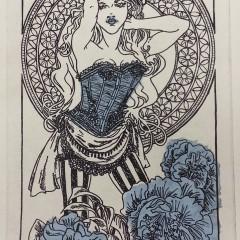 Camellia - Blue